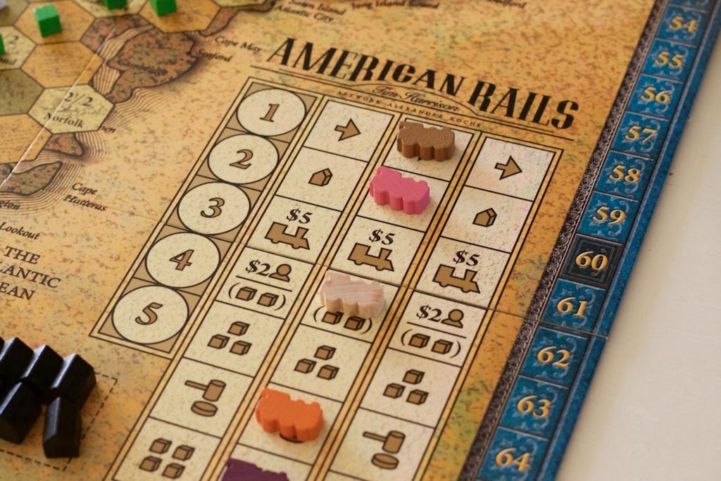 American Rails: tren directo al medallero
