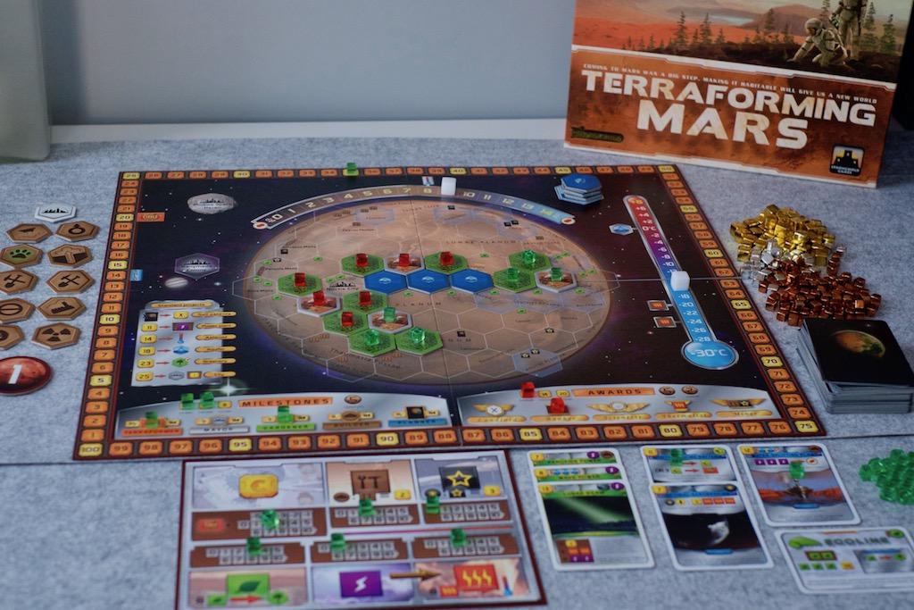Resena De Terraforming Mars Un Marciano En Bicicleta Analisis Al Cubo