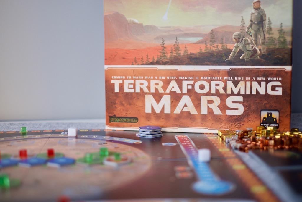 Reseña de Terraforming Mars: un marciano en bicicleta