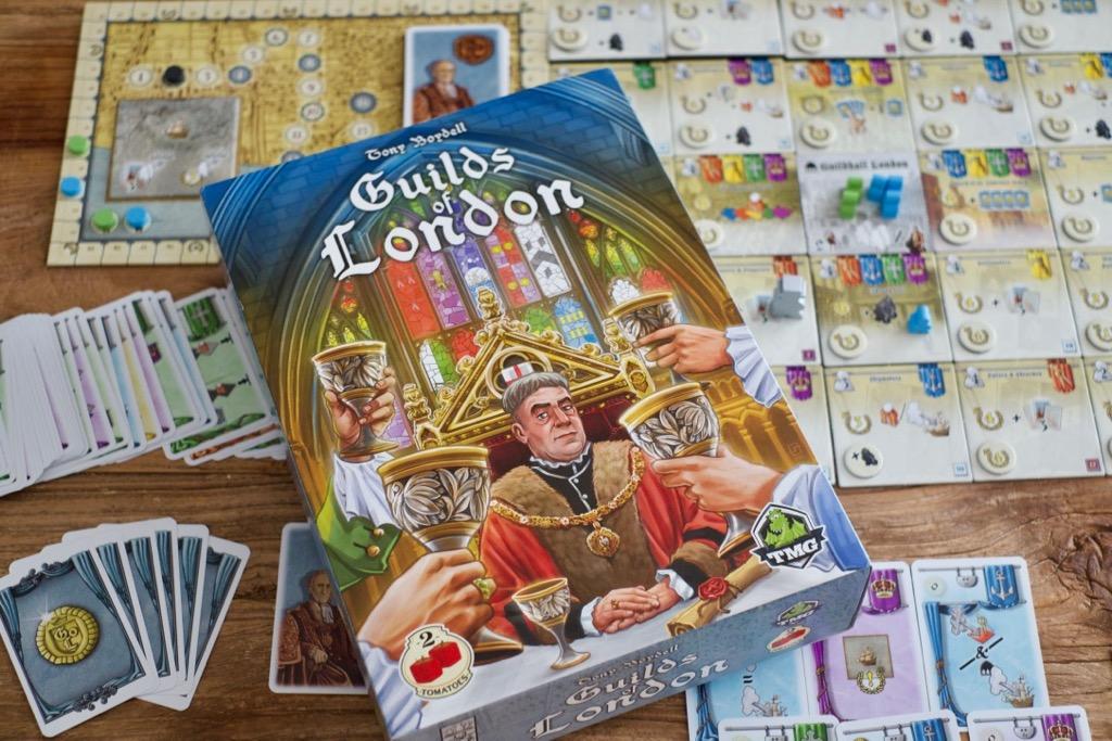 Reseña de Guilds of London