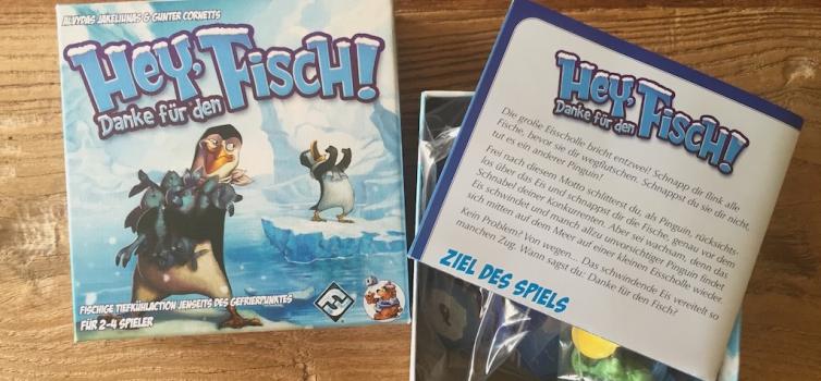 Reseña: Pingüinos Hey that's my fish!